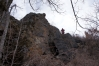 Скальные стенки на большом массиве