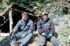 Сибирские спелеологи Пионер (Корешников) и Федя Канашкин