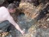 бурун в месте выхода воды
