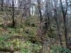 Сильно закарстованный склон около Ловушки