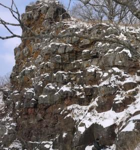 Базальтовые скалы рядом с Вулканом